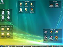 bien organiser bureau organiser les icônes de bureau avec fences