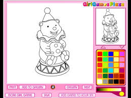circus animals coloring pages for kids circus animals coloring