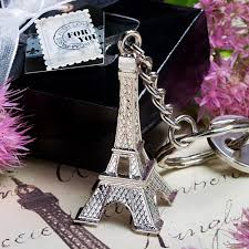 eiffel tower favors eiffel tower key chain favor