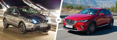 xc3 mazda nissan qashqai vs mazda cx 3 u2013 suvs compared carwow