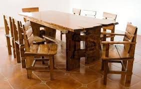 Large Kitchen Table Hand Made Large Kitchen Table Stock Photo Colourbox