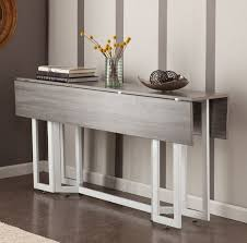console table used as dining table extendable console table for beautiful look home interiors
