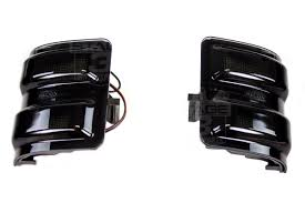 Ford F250 Truck Mirrors - 2011 2016 super duty s3m recon smoked lighting package recon1114