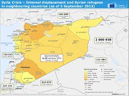 Syria War Map by Inventory Of Conflict And Environment Ice Syria Civil War And