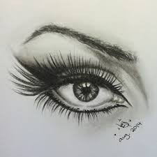 winged eye liner sketch asmasketches youtube