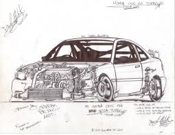 nissan 240sx drawing nissan 240sx rsp13 by onlyjaime on deviantart