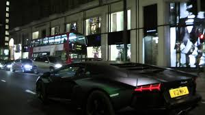 lamborghini dark purple lamborghini aventador at night