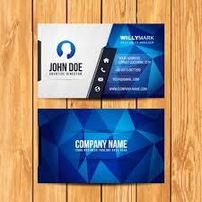 Bisness Card Design Business Card Design Vector Free Download