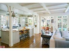 Open Concept Floor Plans  Story Colonial Before And After - Floor plans for open plan kitchen family room