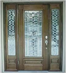 Glass Inserts For Exterior Doors Front Door Glass Inserts Astounding Exterior Door Glass Insert 85