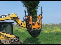 machine can replant trees in minutes dutchman tree spades
