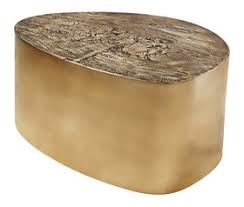 Brass Coffee Table Albeo I Cast Brass Coffee Table Contemporary Transitional Mid