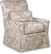 Gliding Chair Lena Skirted Swivel Gliding Chair Premier Comfortcore Cushion By
