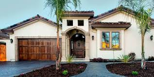 mediterranean home style new home construction general contractor home builder