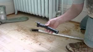 Under Laminate Flooring How To Refinish Wood Floors Under Radiator With Modified Zipwall