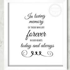 in loving memory wedding best wedding memorials for loved ones products on wanelo