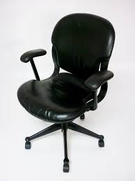 Herman Miller Leather Chair Herman Miller Equa 1 Leather Chairs Recycled Business Furniture