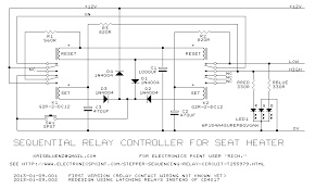 stepper sequencing relay circuit electronics forums