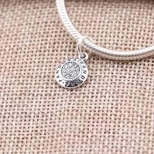 necklace pendant pandora images Signature pendant pandora authorized outlet jpg