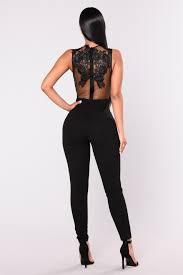 top jumpsuit lace top jumpsuit black