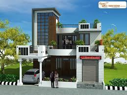 Home Design Plans Ground Floor 3 Bedrooms Duplex 2 Floors House Design In 220m2 10m X 22m