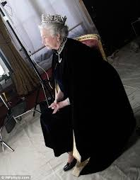 Queen Elizabeth Shooting Behind The Scenes With The Queen Candid Photos Reveal Intimate