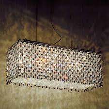 blue crystal chandelier light brizzo lighting stores 27 rainbow modern rectangular crystal