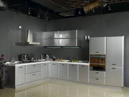 Steel Frame Kitchen Cabinets Stainless Steel Kitchen Cabinets For Your Modern House
