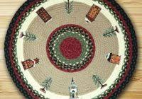 christmas area rugs large holiday holly floor runner area rug from