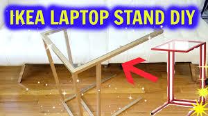 Ikea Laptop Table Hack Easy Ikea Vittsjo Laptop Stand Gold Spray Hack Tomoka Iwata