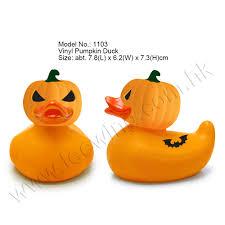Halloween Pumpkin Origin Promotional Halloween Festival Gift Pumpkin Rubber Duck Buy