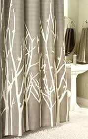 Shower Curtain With Tree Design Botanical Nature 100 Cotton Shower Curtain Floral Branches Design