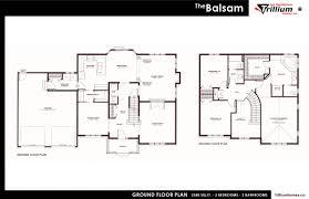 2 storey homes les habitations trillium homes inc