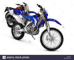 125 motocross bikes yamaha yz 125 2006 bikes off road racing motorcycles stock photo