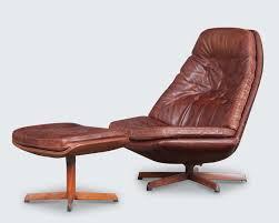 Danish Leather Armchair Modern Times Vintage Danish And European Design Furniture