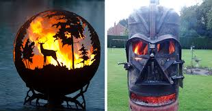 Fire Pit Globe by 12 Beautiful Metal Firepits That Are Works Of Art Bored Panda