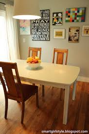 How To Paint A Table Smartgirlstyle How To Paint A Dining Room Table