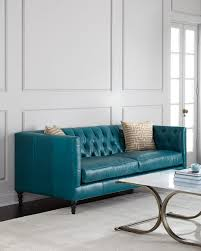 livorno aqua leather sofa aqua leather sofa by futura american home furniture store and within