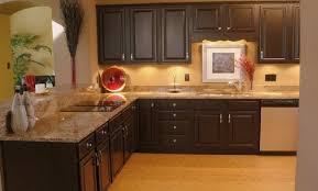 black cabinets with tan counters we all gotta eat pinterest