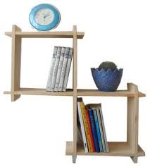 Wooden Wall Bookshelves by Wall Book Rack Rustic Wood Double Wall Mounted Magazine Rack