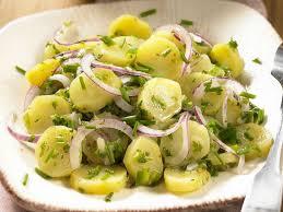 cuisine dietetique salade de pommes de terre diététique recettes femme actuelle