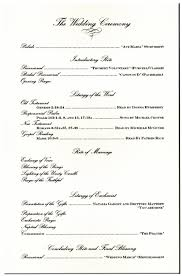 wedding ceremony program order stunning best wedding ceremony script ideas styles ideas 2018