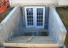 basement walkout ideas walkout basement doors add a entrance basements ideas