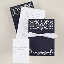 wedding invitation sle wedding ideas black white striped wedding invitations printed