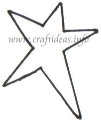 free christmas wood crafts country star template