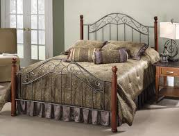 rod iron queen beds doherty house iron headboard vintage styles