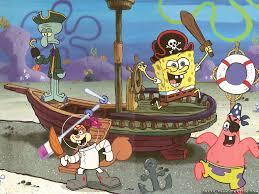 spongebob with shandy cheeks patrick stars squidward tentacles