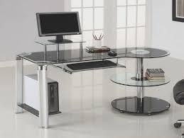 Compact Modern Desk Furniture Fancy Black Computer Desk Ideas Compact Modern