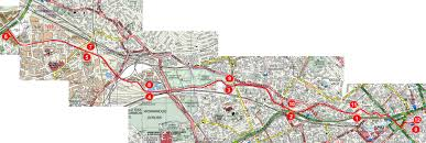 Map Running Route by Serpentine Running Club Running Grand Union Canal