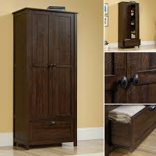 tall cabinet kitchen storage pantry wardrobe armorie rustic